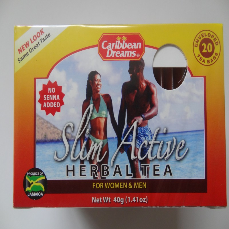 Slim Active Herbal Tea For Women & Men by Caribbean Dreams ...
