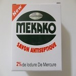 New Antiseptique Soap - Nouveau Savon Antiseptique ( 2 % Mercure ) by Mekako ( 100 G )