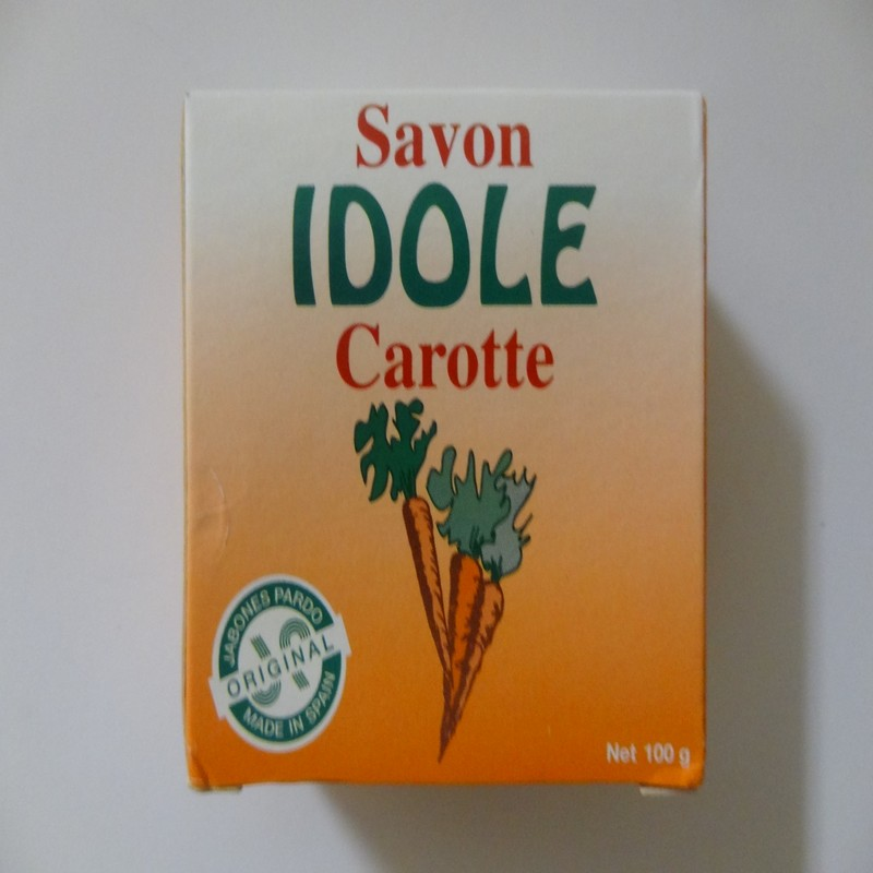 Carrot Soap - Savon Carotte by Idole ( 100 g )