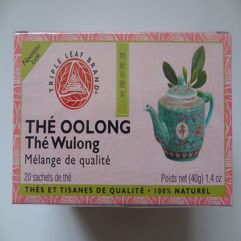 Oolong Tea - Wulong Tea by Triple Leaf Brand ( 20 tea bags )