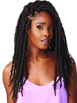 LULUTRESS PRE LOOPED CROCHET BRAID - 2X BUTTERFLY LOCS 18