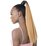 GOLDNTREE SYNTHETIC/ WRAP PONY/ CRIMPED CURL 22