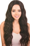 UNPROCESSED VIRGIN REMI HH SWISS LACE FRONT/ BESHE BRAZILIAN 100%   WIG HBR-LS IVY