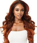 LACE FRONT WIG PERFECT HAIRLINE 13X6 / OUTRE SYNTHETIC/ FAUX SCALP LAUREL