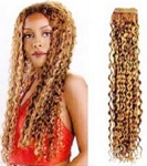 HUMAN HAIR WEAVE / UNIQUE WIIV ITALIAN CURLY 12
