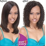 REMI WET & WAVY HUMAN HAIR / MORE VIEWS  JANET COLLECTION INDIAN/ AFRO JERRY WEAVE 10 16 INCH