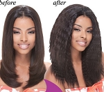 REMI WET & WAVY / JANET COLLECTION INDIAN -HUMAN HAIR SUPER FRENCH WEAVING 10 16 INCH