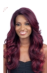 MODEL SEVEN STAR FLAT LAID PART LACE FRONT WIG VERA