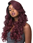 FLARE LACE FRONT EDGE WIG ADRIANA/ MORE VIEWS      SENSATIONNEL EMPRESS FEATHER &