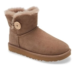 Mini Bailey Button II Genuine Shearling Boot