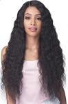 UNPROCESSED VIRGIN REMY BUNDLE HAIR FULL LACE WIG / BOBBI BOSS / BNGLWNC32 NATURAL CURL 32