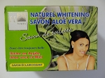 Aloe Vera Natural Whitening Soap - Savon Aloe Vera Eclaircissant Naturel  by H Cosmetiques ( 225 g )