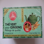 Green Tea with Ginseng by Triple Leaf Brand ( 20 tea bags )
