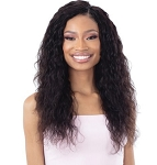 WAVY WEAVE IBIZA LOOSE DEEP 3PCS  & SHAKE N GO VIRGIN HUMAN HAIR WET