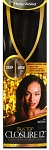 100% REMY HUMAN HAIR/ MORE VIEWS  HOLLYWOOD /  SILK TOP CLOSURE 12 INCH
