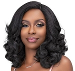 SYNTHETIC NATURAL ME BLOWOUT HD LACE WIG SIERRA / JANET COLLECTION