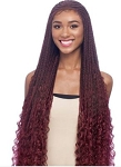 BRAIDED LACE FRONT WIG / VANESSA SYNTHETIC SLAYD / CORNWAVE 32