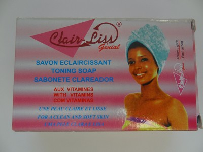 Toning Soap - Savon Eclaircissant by Clair-Liss Génial ( 180 g )