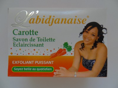 L'Abidjanaise Savon de Toilette Eclaircissant - Lightening Toilet Soap ( 225 g )