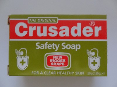 Safety Soap by The Original Crusader in England  ( 80 g )