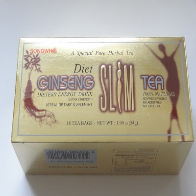 Diet Ginseng Herbal Tea by Songwha ( 18 tea bags )