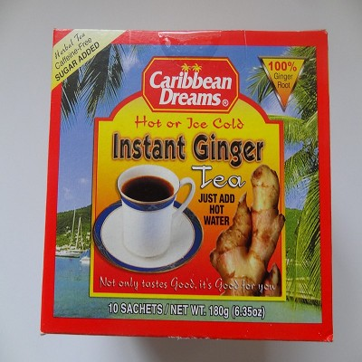 Instant Ginger Tea by Caribbean Dreams ( 10 sachets )