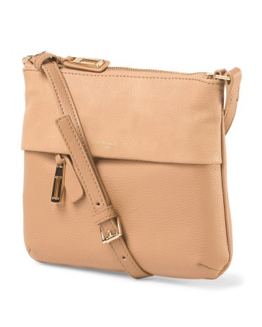 Leather Crossbody by ISAAC MIZRAHI