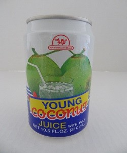 Young Coconut By Sun and Dragon Brand (10.5 oz)