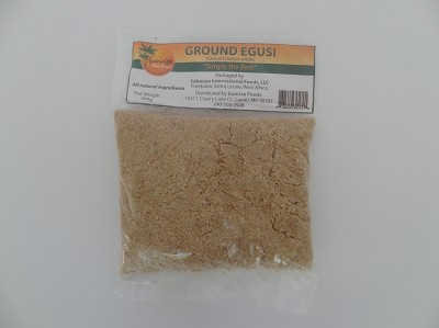 Ground Egusi - Ground Melon Seeds ( 500 g )