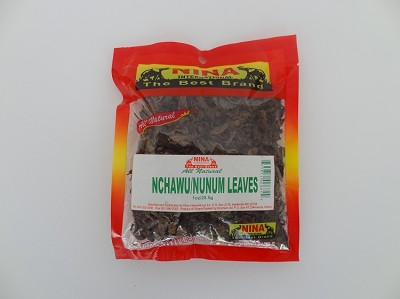 Nchawu Leaves - Nunum Leaves ( 1 oz )