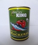 The African King Mackerel in Tomato Sauce with Chilli (15 oz)