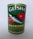 Geisha Mackarel in Tomato Sauce with Chili (15 oz)