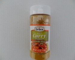 Spicy Curry Powder By Grace (4.5 oz)