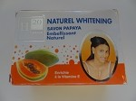Natural Whitening Papaya Toilet Soap - Savon de Toilette Naturel Eclaircissant à la Papaye by H Cosmetiques ( 225 g )