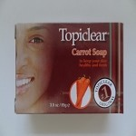 Carrot Soap by Topiclear ( 85 g )