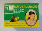 Natural Lemon Toilet Soap - Savon de Toilette Naturel au Citron by H Cosmetiques ( 225 g )