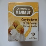 Only The Heart of The Flower - Chamomile Tea by Manasul ( 10 tea bags )