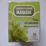 Time of Calmness - Linden Flower Tea by Manasul ( 10 tea bags )
