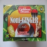 Noni-Ginger Tea by Caribbean Dream ( 20 tea bags )