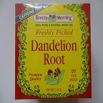 Dandelion Root Tea by Breezy Morning ( 20 tea bags )