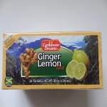 Ginger Lemon Tea by Caribbean Dreams ( 24 tea bags )
